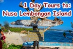 Bali one day tour to nusa lembongan island with Star Bali Tour & Travel services