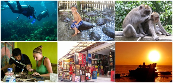 Bali Snorkeling and Ubud Tanah Lot Tours | Bali Best Tour Combination in One Day Tour Journey
