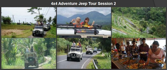 Jeep Bali Package Adventures | Star Bali Tour